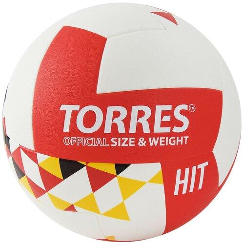 Мяч волейбольный TORRES Hit, р.5, арт.V32055