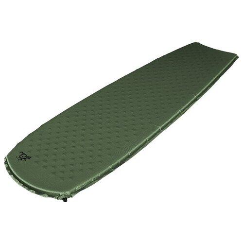 Коврик самонадувающийся Сплав Surfing 3 (олива) (183x55x3)