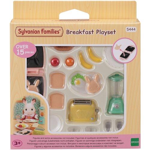 Фото - Набор Sylvanian Families Домашний завтрак эпоха чудес набор кухонная посуда sylvanian families