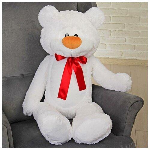 Бока Мягкая игрушка «Медведь Брэд большой», 110 см, цвет белый