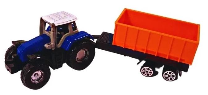 Характеристики модели Трактор с прицепом на Яндекс.Маркете