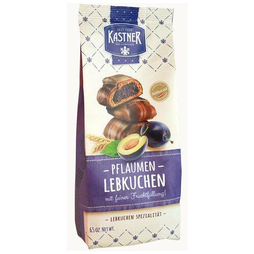 Австрийские имбирные пряники Kastner в шоколаде со сливовой начинкойнетто 185г