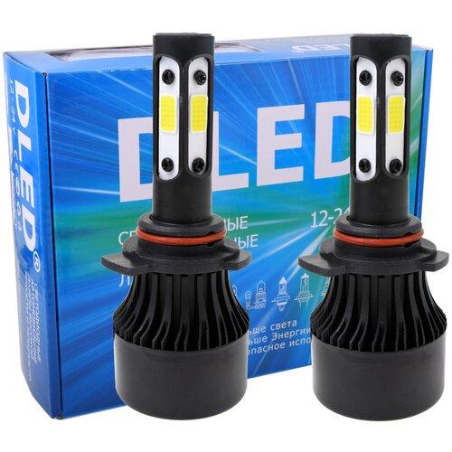 Автомобильная светодиодная лампа HIR 9012 DLED С6 Cube (Комплект 2 лампы)