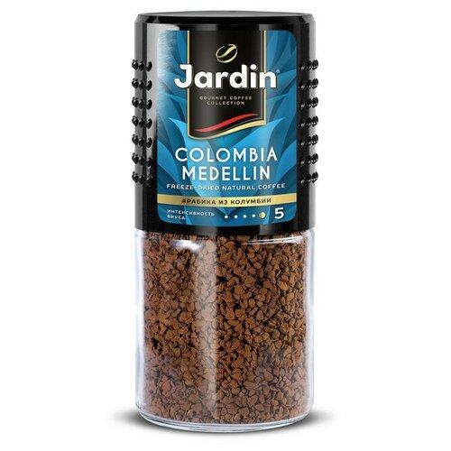 Кофе Jardin Colombia Medelin сублимированный ,95г стек.бан.