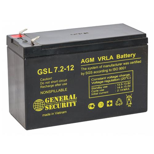 General Security Аккумулятор General Security GSL 7,2-12