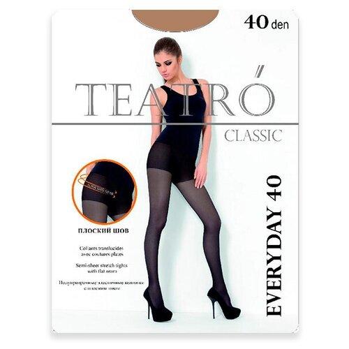 Колготки TEATRO Everyday, 40 den, размер 2-M, daino (бежевый)
