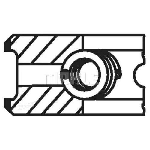 MAHLE 00280V0 Кольца поршневые, комплект
