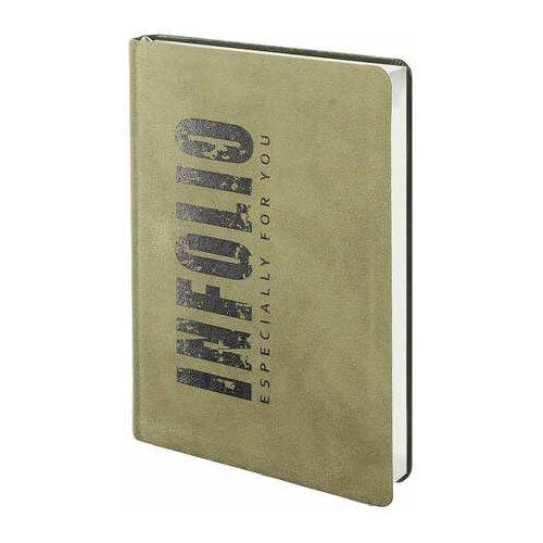 Купить Infolio AZ391/khaki Ежедневник, недатированный, 120х170 мм, 192 стр., мягкий переплет. Коллекц, Ежедневники