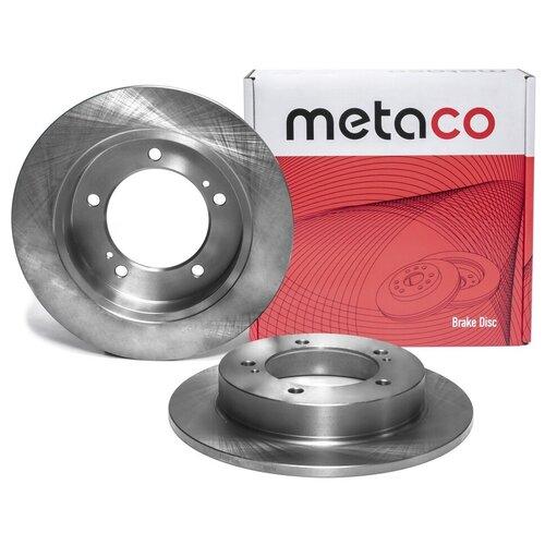 Диск тормозной передний не вентилируемый Metaco 3100-015