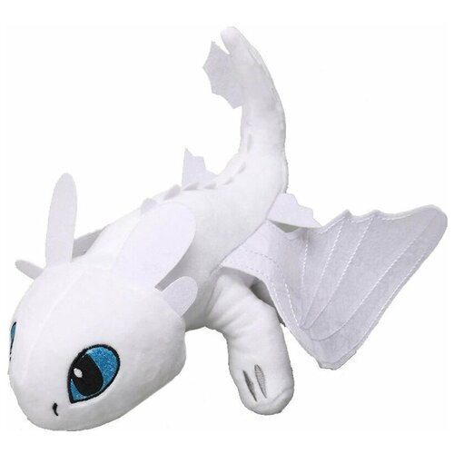 Мягкая игрушка Дневная Фурия (белая) - Как приручить Дракона 50 см.