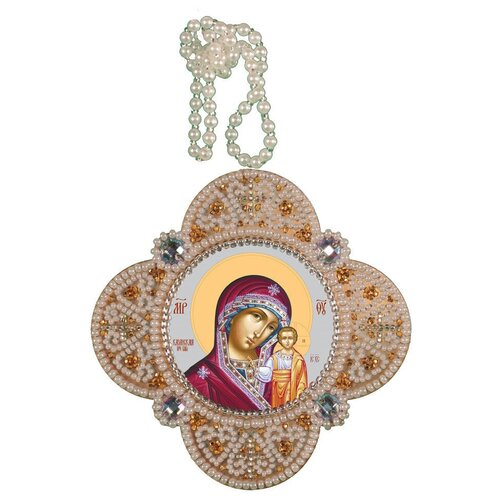 Купить Набор для вышивания NOVA STITCH РВ3306 Богородица Казанская 83 х 83 см 1 шт., NOVA SLOBODA, Наборы для вышивания