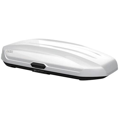 Багажный бокс на крышу Lux Tavr 175 (450 л) белый глянцевый