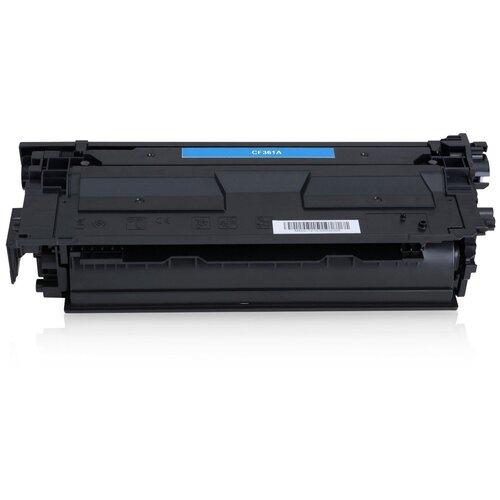 Фото - Картридж CF361A/040 (№508A) для НР CLJ M552 / M553 / M577, Canon LBP 710, LBP 712, Cyan (голубой), для лазерного принтера, совместимый тонер картридж canon 040hm 0457c001 пурпурный 10000стр для canon lbp 710 712