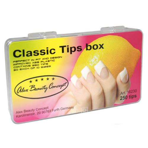 Купить Типсы CLASSIC TIPS BOX, (250 ШТ), Alex Beauty Concept