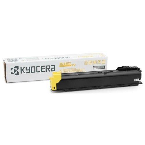 Kyocera TK-5315Y (1T02WHANL0) Тонер-картридж оригинальный желтый Yellow 18К для TASKalfa 408ci 408