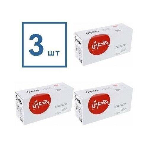 Фото - Sakura SATN3430-3PK Картриджи комплектом TN-3430 черный 3 упаковки, совместимый [выгода 3%] Black 9K для DCP-L5500, DCP-L6600, HL-L5000, HL-L5100, HL-L5200, HL-L6250, HL-L6300, HL-L6400, MFC-6900, MFC-L5700, MFC-L5750, MFC-L6800, MFC-L6900 фотобарабан bion bcr dr 3400 black для brother hl l5000d l5100 l5200 l6250 l6300 l6400 dcp l5500 l6600 mfc l5700 l5750 l6800dw 1816382