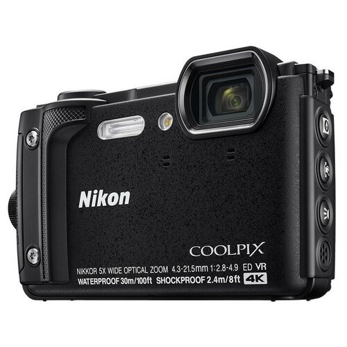 Фотоаппарат Nikon Coolpix W300 Black