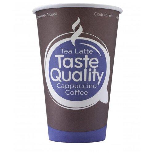 Стакан одноразовый бум. HB80-360 Taste Quality вендинг 300 мл,d=80,50шт/уп