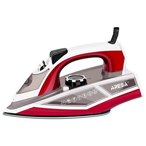 Утюг ARESA AR-3122 белый/красный утюг aresa ar 3115 серый оранжевый белый