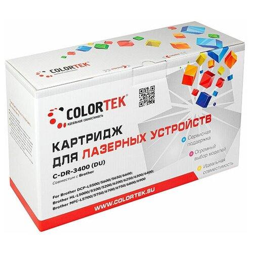 Фото - Фотобарабан Colortek CT-DR-3400 для принтеров Brother картридж colortek ct tn 2080 для принтеров brother