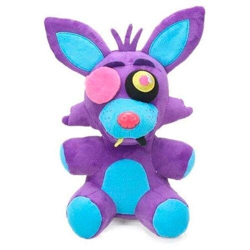 Мягкая игрушка Фокси Неоновый Пурпурный (Five Nights Foxy Purple) 20 см