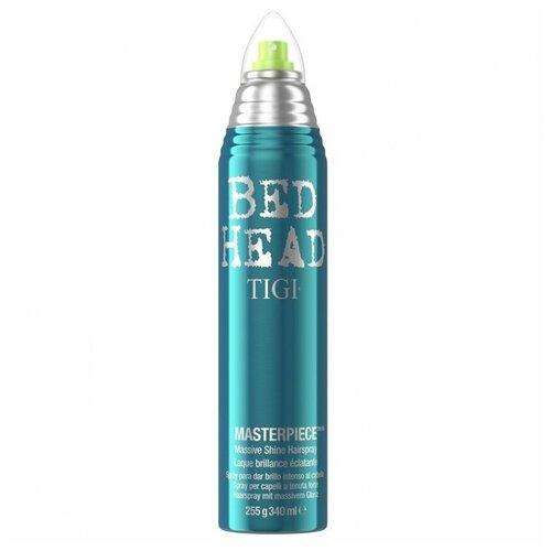 TIGI / Лак для блеска и фиксации BED HEAD MASTERPIECE, 340 мл tigi лак для блеска и фиксации masterpiece bed head 340 мл
