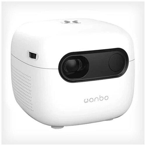 Фото - Проектор Xiaomi Wanbo Mini Smart Projector Q6A проектор xiaomi mi smart projector 2 pro бело серый wi fi [bhr4884gl]