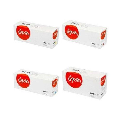 Sakura SA46490629-SA46490630-SA46490631-SA46490632 Картриджи комплектом 46490629, 46490630, 46490631, 46490632 полный набор совместимый, повышенной емкости CMYK:6K, BK:7K стр. [выгода 3%] для C532DN C532, C542, C542DN, MC563, MC563DN, MC573, MC573DN