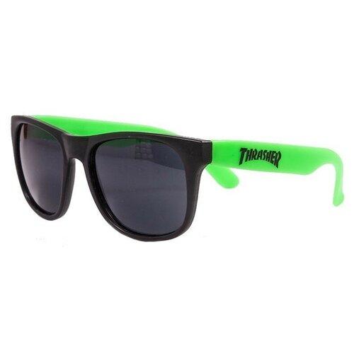 Очки THRASHER Logo Sunglasses NEON GREEN 2021