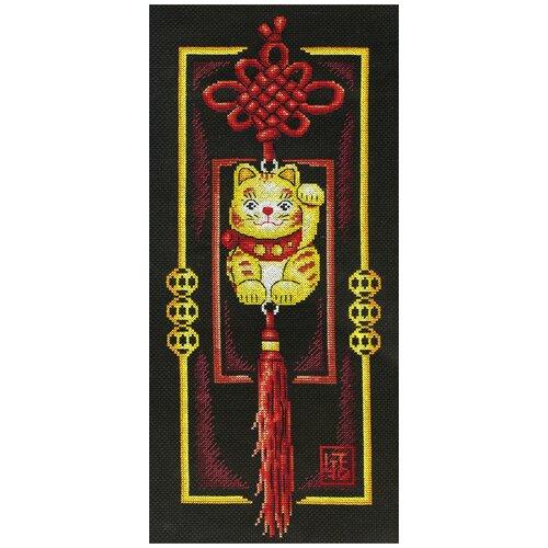 Набор для вышивания крестиком PANNA Золотой котик (SO-0659), Наборы для вышивания  - купить со скидкой