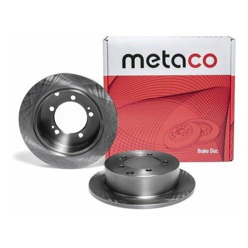 Диск тормозной задний (Производитель: METACO 3060057)