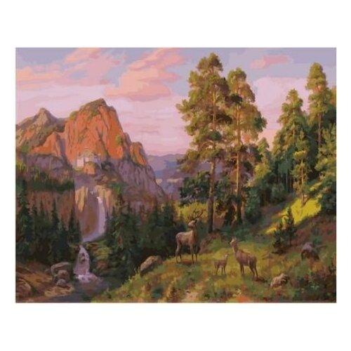 Картина по номерам Paintboy «На поляне (Потапов Виталий)» (холст на подрамнике, 40х50 см) картина по номерам paintboy маленькая деревушка холст на подрамнике 40х50 см
