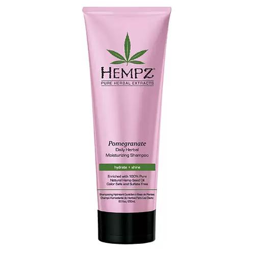Hempz Daily Herbal Moisturizing Pomegranate Shampoo - Шампунь растительный Гранат, легкой степени увлажнения, 265 мл недорого