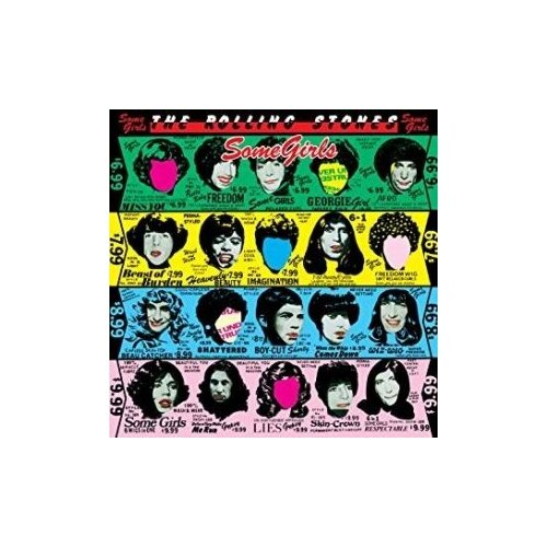rolling stones rolling stones some girls Компакт-диски, Polydor, THE ROLLING STONES - Some Girls (CD)