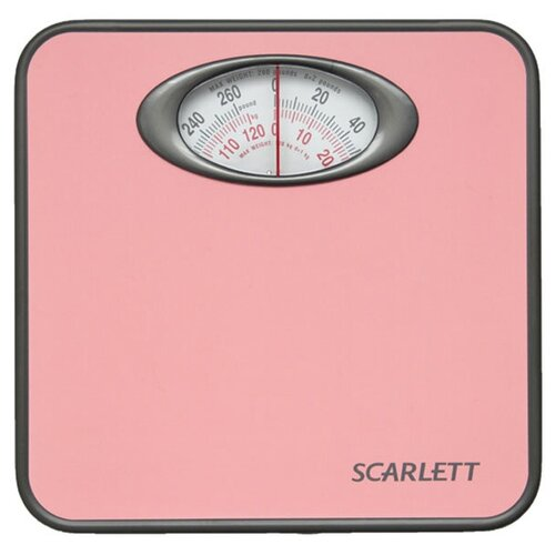 Напольные весы, механические, SCARLETT SC-210, весы домашние, весы для ванной