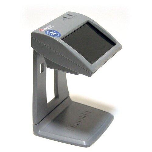 Детектор подлинности банкнот (валют) Cassida Primero, серый