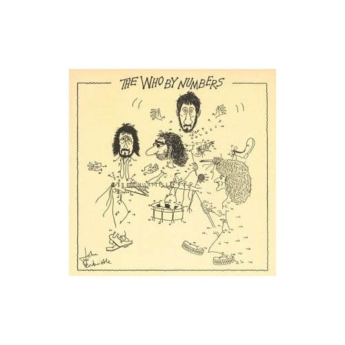 Виниловые пластинки, Polydor, THE WHO - The Who By Numbers (LP) who who the who by numbers