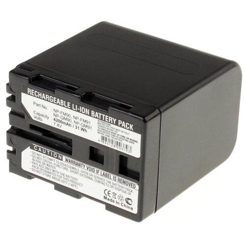 Фото - Аккумуляторная батарея iBatt 4200mAh для Sony NP-FM91, NP-QM50, NP-FM51 аккумуляторная батарея ibatt 850mah для pentax praktica samsung klic 7005 np 40n