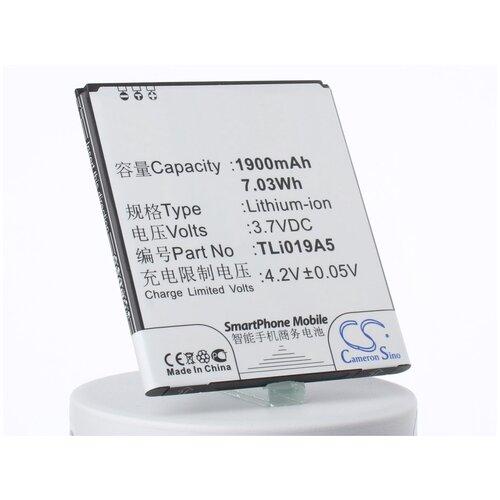 Аккумуляторная батарея iBatt 1800mAh для TLi018D2