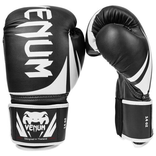 Перчатки боксерские Venum Challenger 2.0 Black/White 12 унций