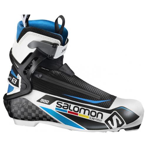 Лыжные ботинки Salomon S/Lab Pursuit Prolink 390830 NNN (черный/синий/белый) 2016-2017 41 RU кроссовки salomon salomon s lab sense 8