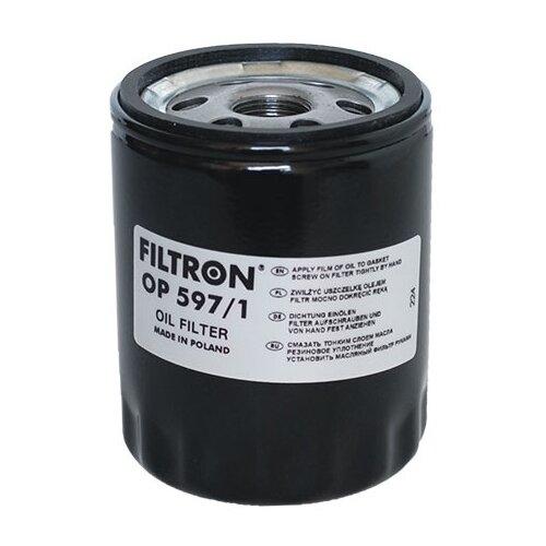 Масляный фильтр FILTRON OP 597/1 фильтр масляный filtron op 592 1