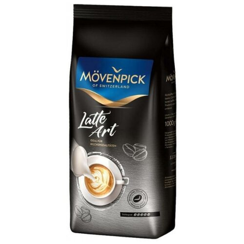 Кофе зерновой Movenpick Latte Art 1000г. 17846 movenpick hotel apartments downtown dubai