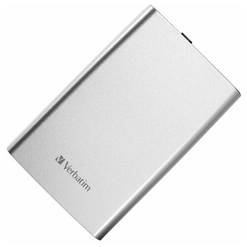 Жесткий диск внешний Verbatim 53189, 2TB, silver