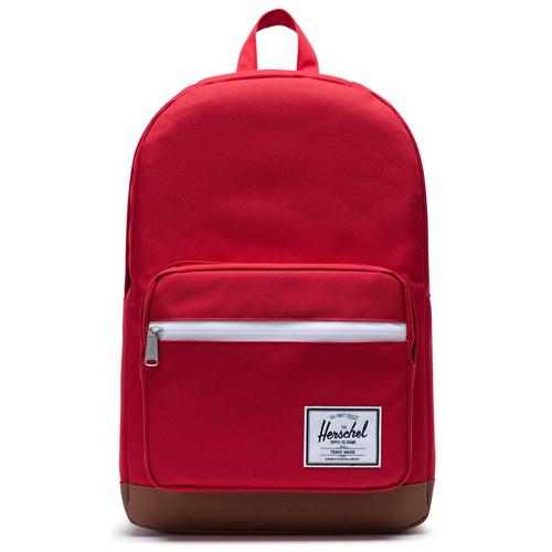 Городской рюкзак Herschel Pop Quiz 22, Red/Saddle Brown