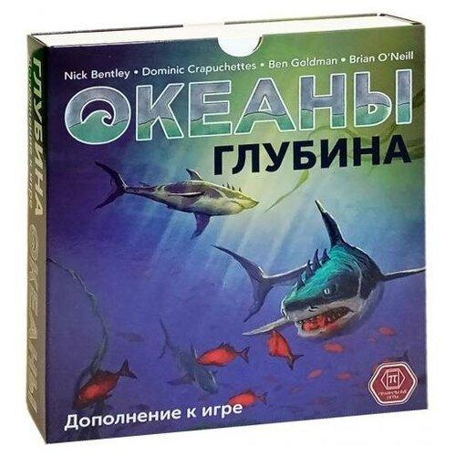Дополнение для настольной игры Правильные Игры Океаны. Глубина