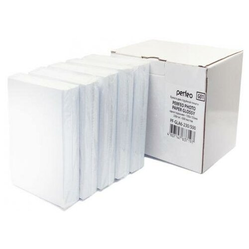 Фото - Perfeo Фотобумага Perfeo PF-GLA6-230/500 10х15 230г/м2 глянцевая 500л бумага perfeo a4 pf gla6 200 500 200г м2 500 листов белый