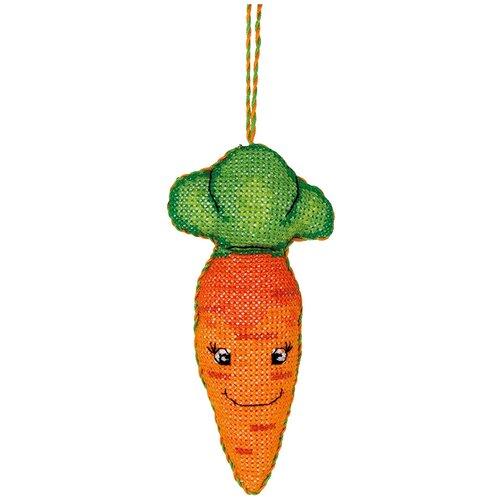 Набор для вышивания PANNA IG-1368 ( ИГ-1368 ) ИгрушкаМорковка 2 шт.