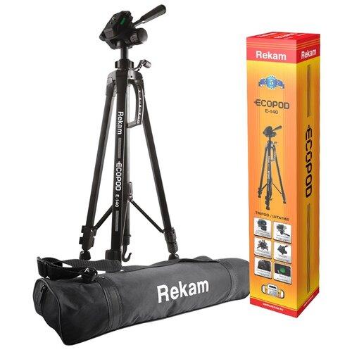 Фото - Штатив Rekam Ecopod E-140 черный rekam vest 10 xl черный