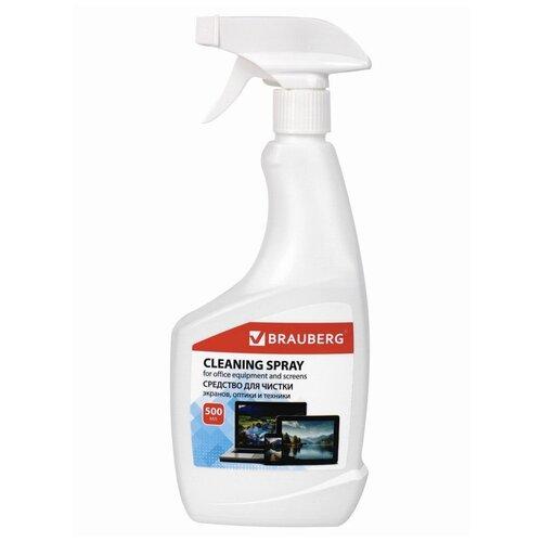 Фото - Чистящая жидкость-спрей Brauberg 513288 чистящая жидкость спрей brauberg 513288
